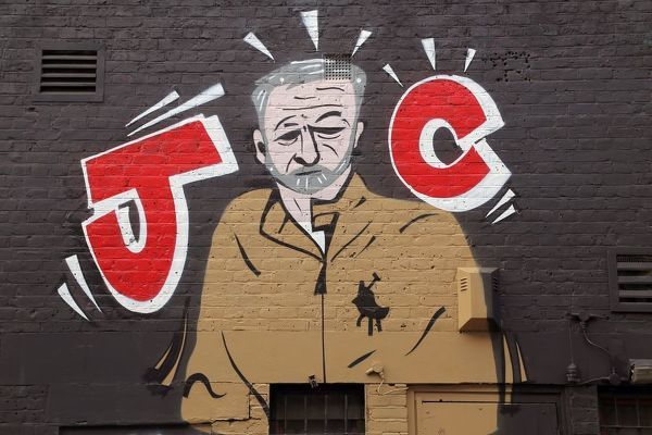 Jeremy Corbyn art. Wall art of UK Labour Member of Parliament