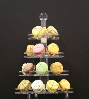 Macaroons at the Taipei Bakery Show 2014