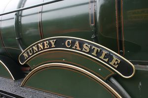 Nunney Castle loco at Bishops Lydeard station, Somerset