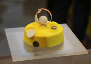 Sponge cake at the Taipei Bakery Show 2014