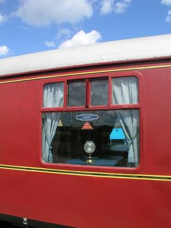 West Somerset Railway, The Quantock Belle, Luxury Dining Train at Bishops Lydeard station