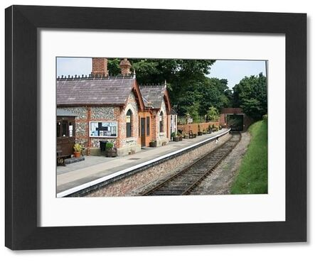 Chinnor railway station, Chinnor, Oxfordshire