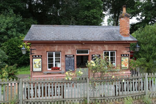 Station on the West Somerset Railway line