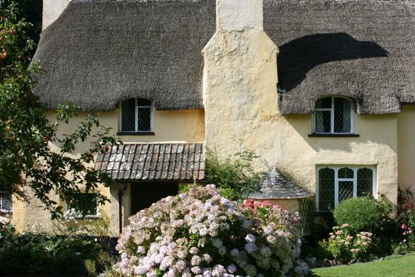 Thatched Cottage, Selworthy, Exmoor, Somerset, UK