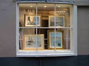 Art Gallery, Topsham, Devon, UK