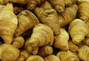 Croissants at the Taipei Bakery Show 2014