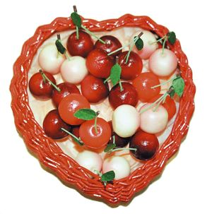 Marzipan cherries