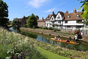 River Stour, Canterbury, Kent, UK