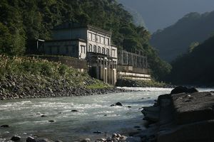 Wulai power station, Wulai, Taipei County, Taiwan